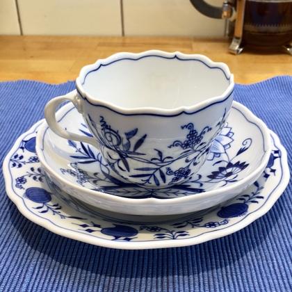 マイセンのティー・コーヒーカップ2