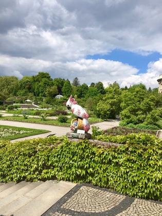 ミュンヘン植物園 庭園の入り口